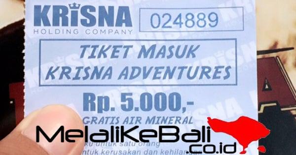 Tiket Masuk Krisna Adventure Bali
